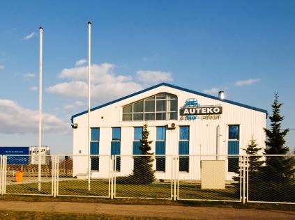 Auteko & TUV Latvija пункт техобсмотра в Риге